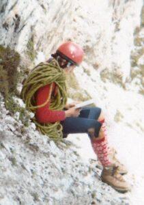 Enrico Maioni - Torre Toblin agosto 1977